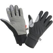 Guantes para protejer del frío gris