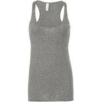 Camiseta Atleta Espalda Nadadora Sylvia gris