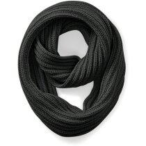 Bufanda para el frío en poliester gris