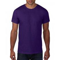 Camiseta Ring-spun hombre grabada