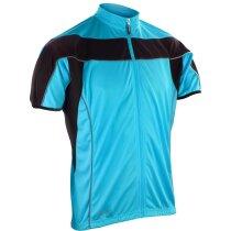 Camiseta de ciclista manga corta unisex 170 gr original azul claro