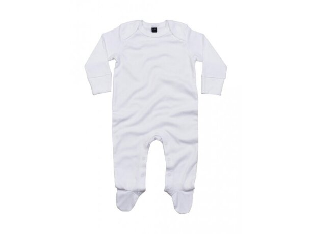 Pelele orgánico de bebé personalizado