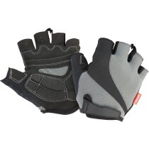 Guantes deportivos sin dedos gris