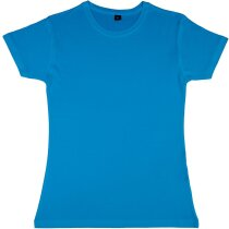 Camiseta Viscosa-algodón Lily azul claro