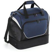 Bolsa compacta multibolsillos marca Quadra personalizada azul marino
