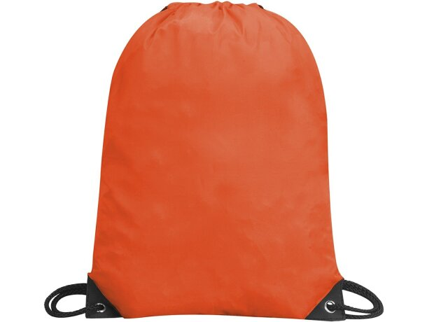 Bolsa mochila impermeable con cuerdas natural