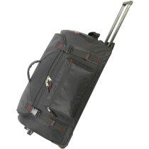 Bolsa trolley con mango reforzado con logo negra