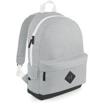Mochila estilo retro de varios colores gris claro personalizado