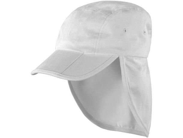 8008ccf6ca97e Gorra tipo legionario para niños de algodón personalizada blanca