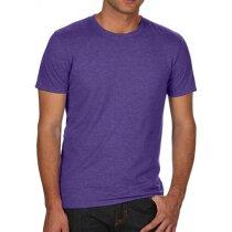 Camiseta de hombre poliester algodón grabada