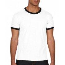 Camiseta de hombre ribetes de color