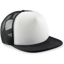 Gorra  modelo vintage especial para sublimación personalizada negro y blanco