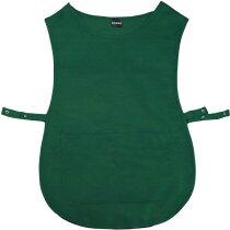 delantal tipo chaleco de mujer en poliester algodón personalizado