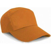 Gorra especial con 7 paneles personalizada natural