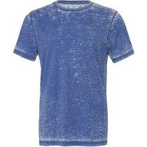 Camiseta Unisex Algodón-poliester azul royal