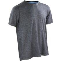 Camiseta Shiny Fitness hombre negra