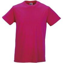 Camiseta sencilla 135 gr fucsia