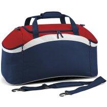 Bolsa barata de deporte Bag Base marino y rojo