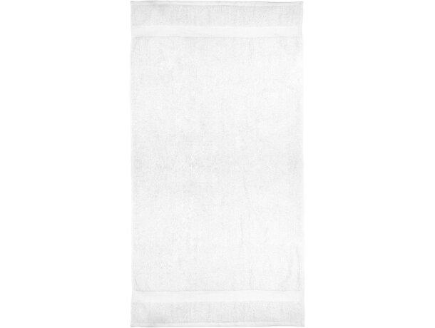 Toalla de baño algodón 550 gr blanca