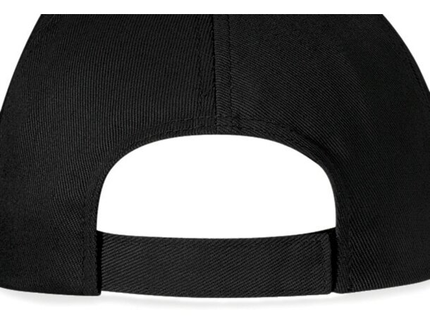 Gorra de 5 paneles con visera tipo sandwich