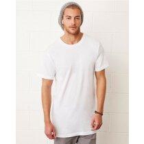 Camiseta de hombre corte largo