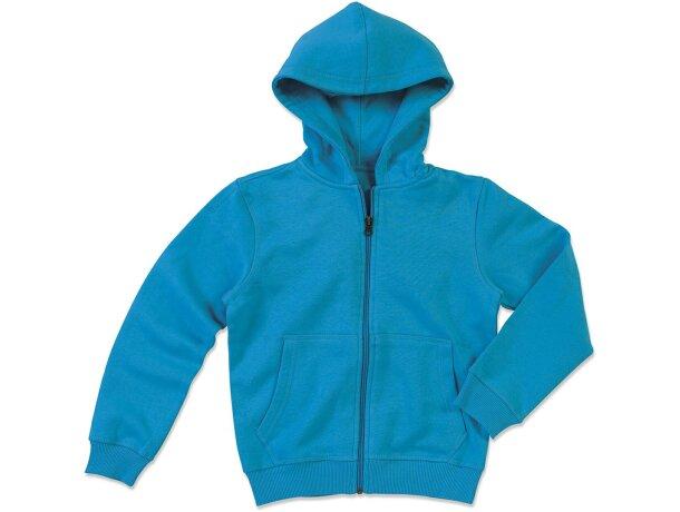 Sudadera Active Niño merchandising azul claro