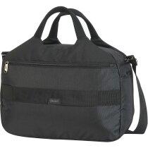 Bolsa maletín con protección para portátil negra