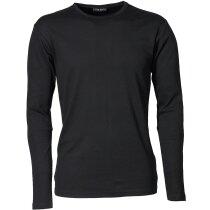 Camiseta manga larga unisex 220 gr personalizada negra