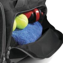 Bolsa de deporte con bolsillo antihumedad personalizada negra