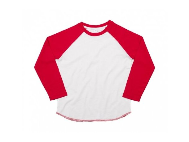 Camiseta manga de color de niño 150 gr