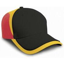 Gorra de algodón con diseño multicolor personalizada
