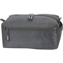 Neceser con bolsillos laterales personalizado gris