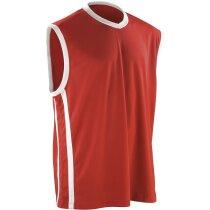 Camiseta técnica de baloncesto sin mangas 135 gr