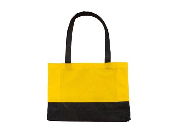 Bolsa de tela pequeña personalizada amarillo
