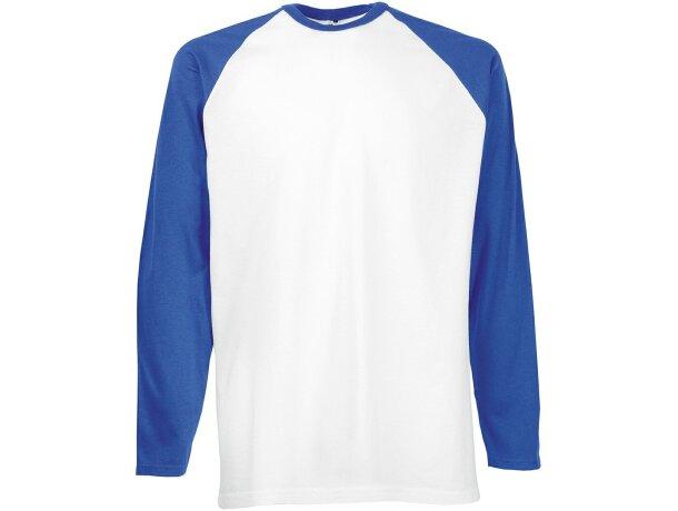 Camiseta manga larga unisex mangas contrastada 160 gr