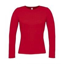 Camiseta de mujer manga larga fina 135 gr