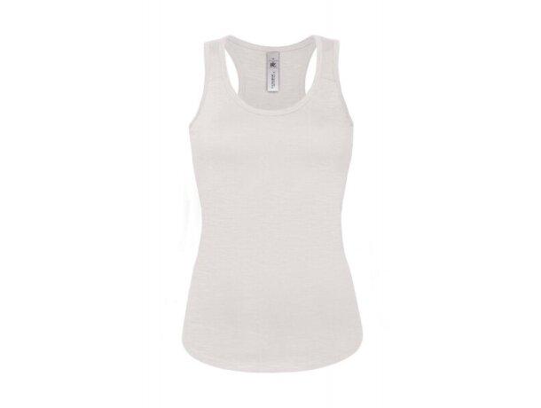 Camiseta de mujer espalda nadadora personalizada