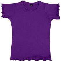 Camiseta Niña Mouse lila