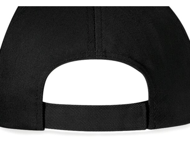 Gorra de 5 paneles con visera tipo sandwich con logo