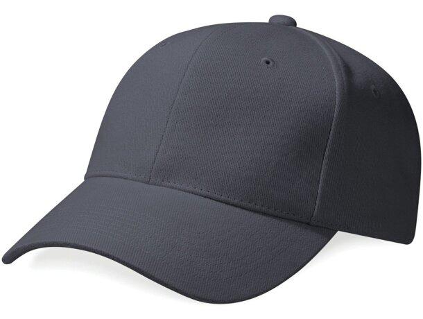 Gorra de algodón peinado grueso personalizada gris 464cf9e8279