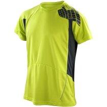 Camiseta manga corta combinada 135 gr