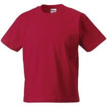 Camiseta de niño alta calidad 170 gr roja