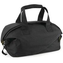 Bolsa de viaje con base acolchada personalizada negra
