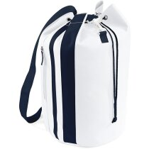 Petate macuto modelo marinero personalizado blanco/azul