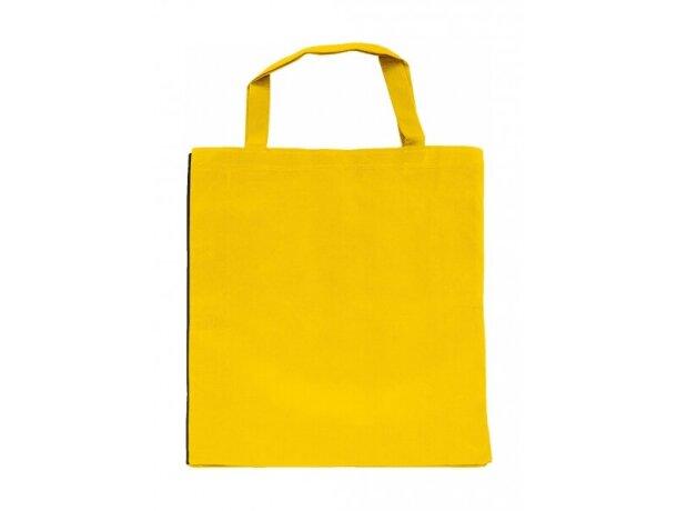 Bolsa con contraste de color en lateral