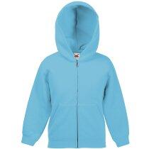 Sudadera de niño con capucha azul claro