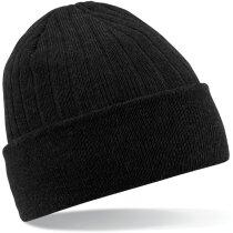 Gorro marca Thinsulate de doble capa personalizado negro