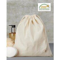 Bolsa de algodón con cordón ajustable