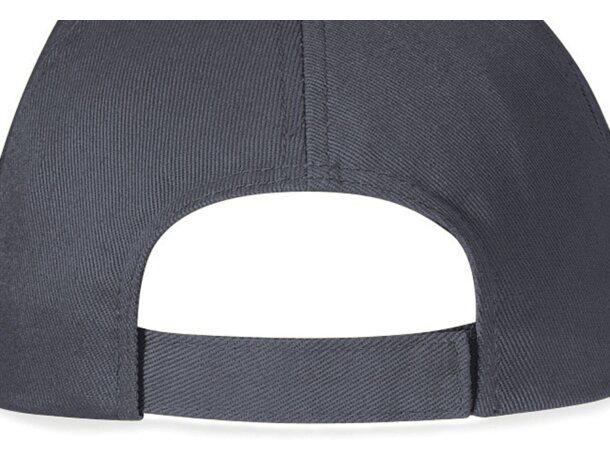 Gorra de 5 paneles con visera tipo sandwich barata