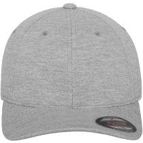 Gorra de alta calidad de 6 paneles para bordado personalizada gris